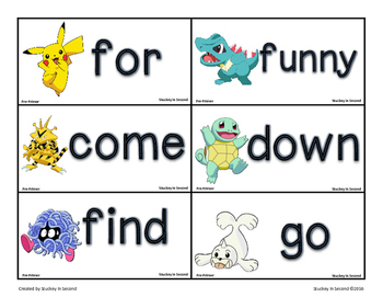 Dolch Sight Word Games (All 5 Levels!)