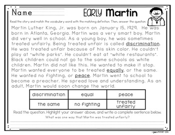 ~*Martin Luther King Day