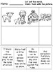 """""""Mary had a Little Lamb"""" Differentiated Literacy Activities [no prep!]"""