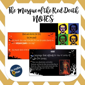 """Masque of the Red Death"" Notes"