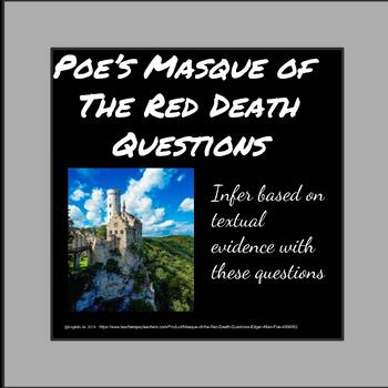 """""""Masque of the Red Death"""" Questions- Edgar Allan Poe"""