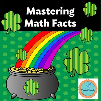 *Mastering Math Facts* St. Patrick's Day