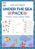 [Math & Literacy] Under The Sea Pack