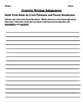 """Math Trek"" by Ivars Peterson and Nancy Henderson Creative Writing"