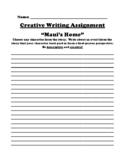 """Maui's Home"" Polynesian Myth Creative Writing Worksheet"