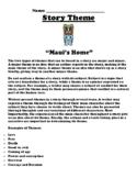 """Maui's Home"" Polynesian Myth Theme Worksheet"