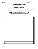 """Maui the Fisherman"" Polynesian Myth Book Cover Worksheet"