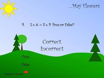 … May Flowers (Multiplication/Division Practice)