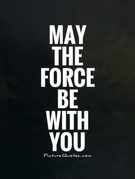 """""""May the Force be with you"""" Walkaround Exponents Activity"""