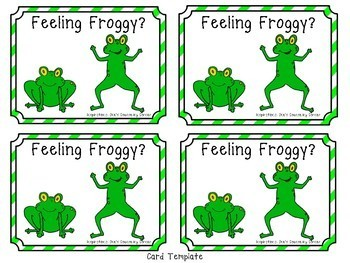 Feeling Froggy: A Story and Activities on Self Control #memorialdaysavings