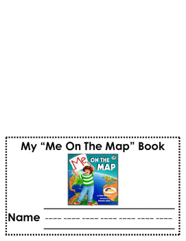 """""""Me on the Map"""" Booklet"""