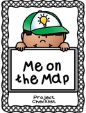 """Me on the Map"" Rubric-Perfect for End of your Map Unit"