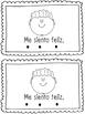 "'Me siento"" Spanish Tracking Mini Book"