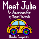 """Meet Julie"" by Megan McDonald - Reader Companion"