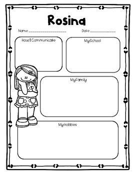 """Meet Rosina"" A McGraw Hill Wonders Text Study"