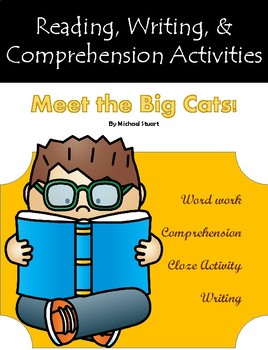 """""""Meet the Big Cats"""" Guided Reading Program Work"""