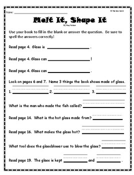 melt it shape it guided reading program activities by the briar patch rh teacherspayteachers com