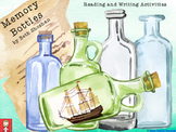 """Memory Bottles"" by Beth Shoshan Writing and Reading Comprehension Activities"