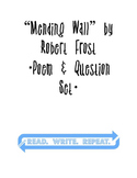 """Mending Wall"" by Robert Frost - Poem & Question Set"