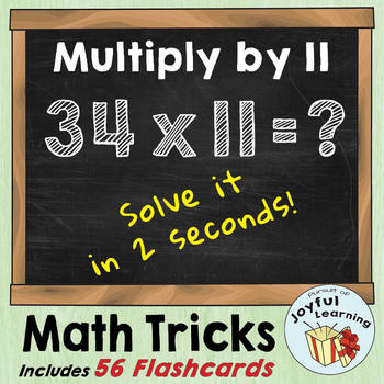 [Mental Math] Multiplying by 11 with speed!