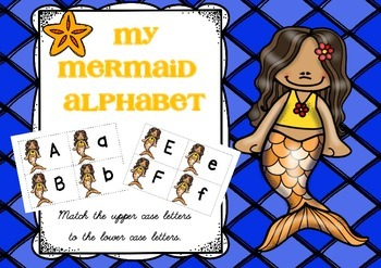 { Mermaid Alphabet }