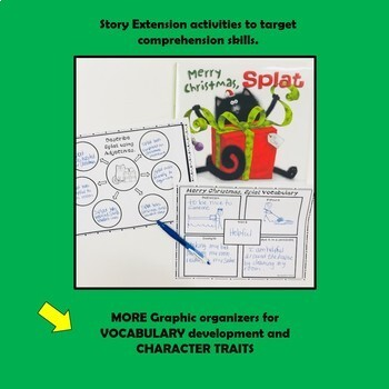 """Merry Christmas, Splat"" A Christmas Speech and Language Book Companion"