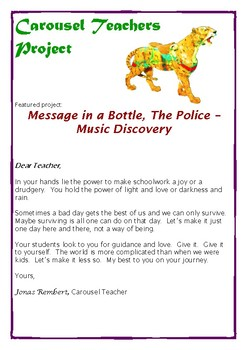 """""""Message in a Bottle,"""" The Police-  Music Discovery"""