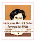 · Meta Vaux Warrick Fuller Portrait Art Print
