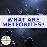 What are Meteorites? Fun Meteorite Hunting Video Worksheet