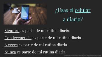 """Mi Rutina Diaria"" - Personalized CI Activity for Daily Routines Unit"