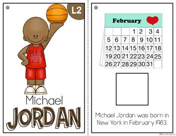 { Michael Jordan } Black History Month Adapted Book Set