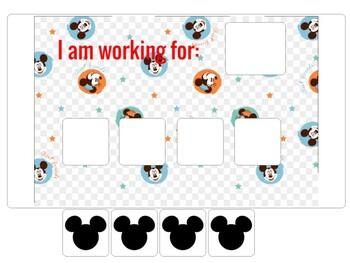 """Mickey Mouse"" Token Board"