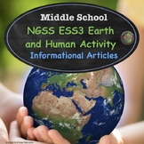 Middle School Science Human Activity Nonfiction Texts