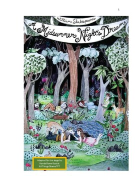 """""""Midsummer Night's Dream"""" 10-minute adaptation of the 'play within a play'."""
