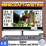 *Minecraft Digital Writing Create-a-Scene & Write-Google