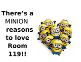 """Minion"" Reasons to Love Room ____!"