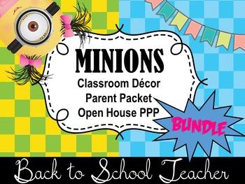 ~Minions~ Back to School Teacher Bundle