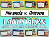-Miranda v. Arizona- Landmark Supreme Court Case (PPT, handouts & more)