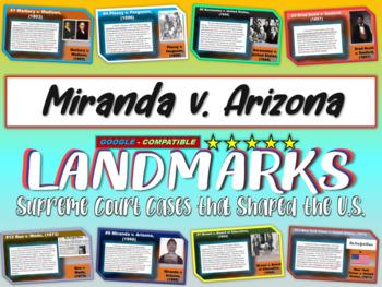 -Miranda v. Arizona- Landmark Supreme Court Case (PPT, han