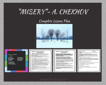 """""""Misery"""" by A. Chekhov:  Lesson"""