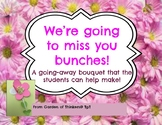 """""""Miss You Bunches"""" Flower Bouquet"""