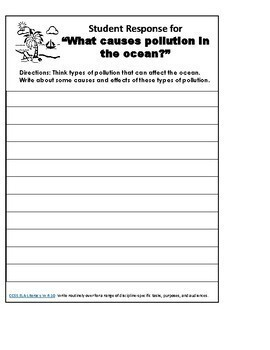 """Moby-Duck"" Interactive Notebook ELA Collections 3 Gr. 6"