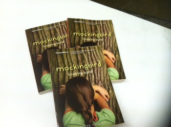 """Mockingbird"" books, by Kathryn Erskine - Literature Circle Set"