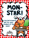"""Mon-Star"" Student of the Week Set"