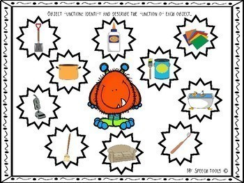 """""""Monster Madness"""" No-Prep Print-and-Go Halloween Articulation and Language Mats"""