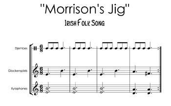 """Morrison's Jig"" Irish Tune play-along for classroom instruments"