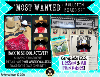 """Most Wanted"" Bulletin"