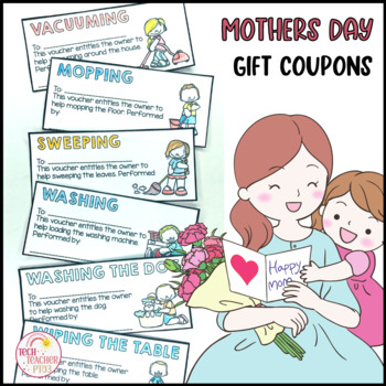 Student teacher gift ideas teaching resources teachers pay teachers mothers day gift idea coupons vouchers mothers day gift idea coupons vouchers fandeluxe Gallery