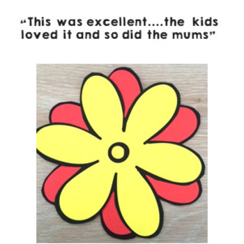 ♥♥ Mother's Day Flower Craft Activity - Easy to make gift idea ♥♥ $1 DEAL