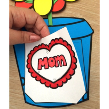 Mother's Day Craft Activity Flower Card